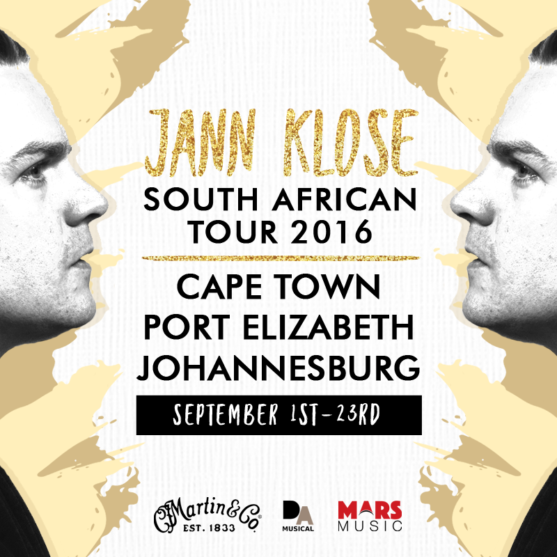 jann klose south african tour 2016